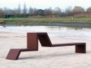 Mobilier Urbain Banc EUDALD III - Création Originale Cyria
